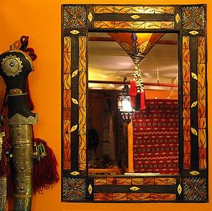 Moroccan Mirror ID #1189, Mirrors, Wood & Furniture from