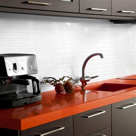 wall tiles kitchen backsplash smart tiles blanco 11 55 in w x 9 65 in h peel