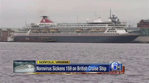 Norovirus Sickens 159 On Cruise Ship Docked In Norfolk ...