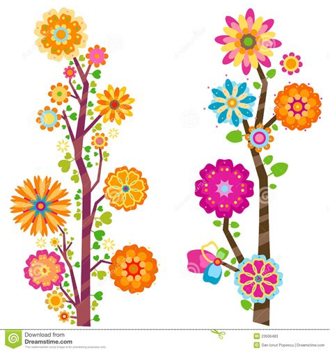 pictures of flowers and trees flower trees stock photos image 23506483