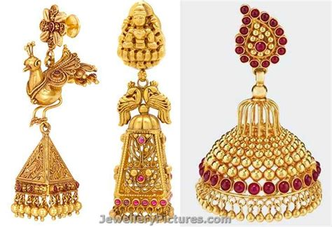 earrings buttalu designs  joyalukkas jewellery designs