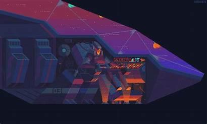 Pilot Sci Fi Kirokaze Animation Fantasy Pixel