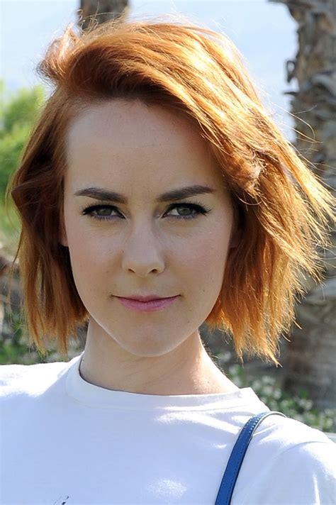 jena malone short cut  bangs short hairstyles