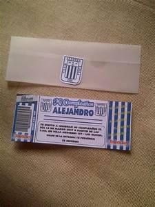 Tarjeta De Invitaci U00f3n Alianza Lima 2017 P   Cumplea U00f1os Y
