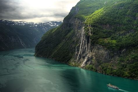The Seven Sisters Waterfall Norway Pics