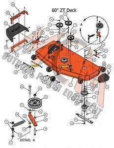 2017 Zt Elite 60 U0026quot  Deck Assembly