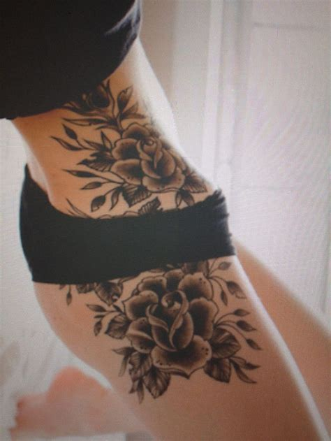 hip flower tattoo tattoo loves pinterest