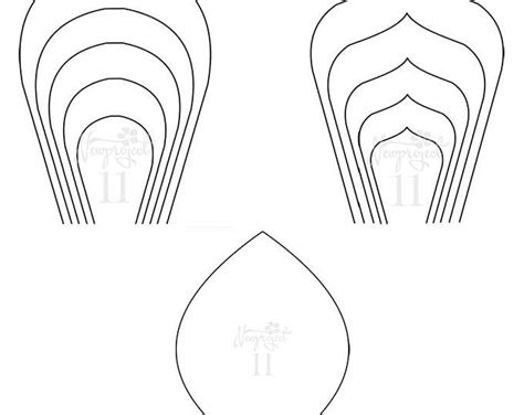 paper flower template pdf all 20 pdf svg diy paper flower template schablone und bl 252 ten
