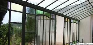 Serre Fer Forgé : serres l 39 ancienne en fer et serres en c dre pour le jardin ~ Teatrodelosmanantiales.com Idées de Décoration