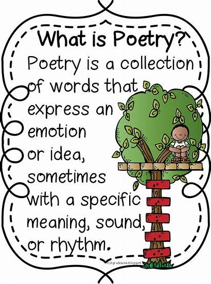 Poem Poetry Happy Clipart Poems Alliteration Grade