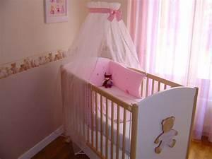 Ciel De Lit Bébé Fille : ciel de lit bebe ~ Teatrodelosmanantiales.com Idées de Décoration