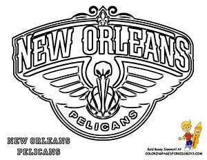New Orleans Pelicans Basketball Printable