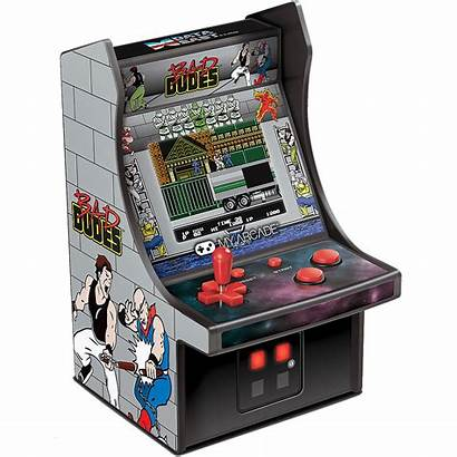 Bad Arcade Dudes Player Micro Retro Dgunl