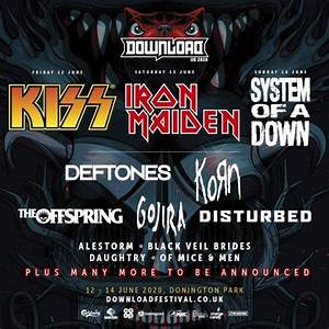 IRON MAIDEN, KISS, SYSTEM OF A DOWN To Headline Download ...