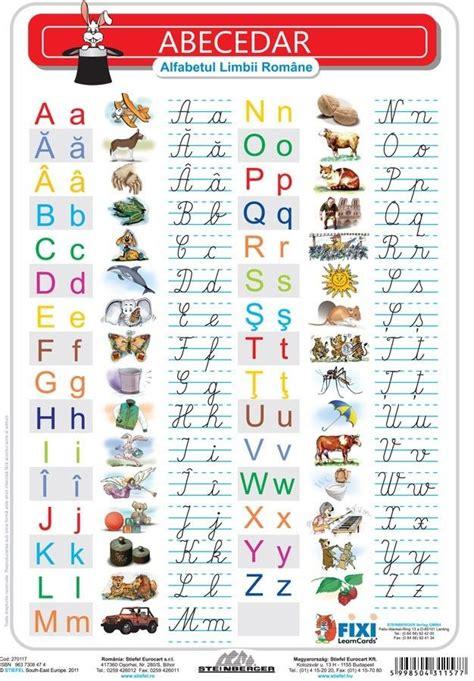 fixi alfabetul roman verso liniatura tip  stiefel