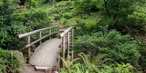 Japanischer Garten Elemente by Br 252 Cken Im Japanischen Garten Bedeutung Als Festes Element