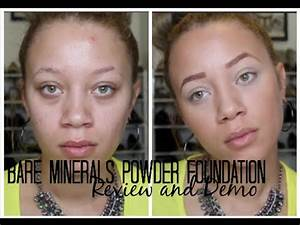 Bare Minerals Powder Foundation Review + Demo - YouTube