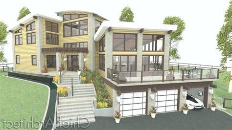 plans Large Size Of Top Sloped Lot House Plans Walkout
