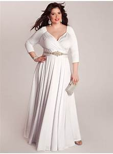 casual long white plus size summer dresses for women With robe blanche grande taille