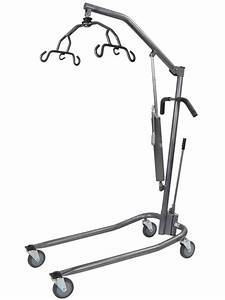 Drive Medical Manual Deluxe Silver Vein Hydraulic Patient Lift