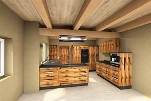 Waschtischplatte Holz Rustikal : altholzk chen modern ~ Sanjose-hotels-ca.com Haus und Dekorationen