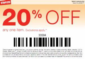 Staples 20 Off Coupon Coupon Valid