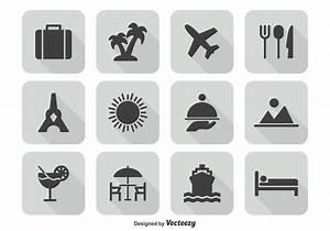 Travel Icon Set - Download Free Vector Art, Stock Graphics ...