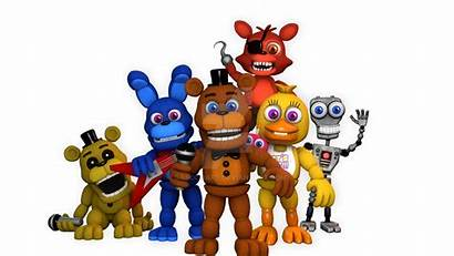 Fnaf Deviantart Adventure Sfm Models Fnaf1 Accurate