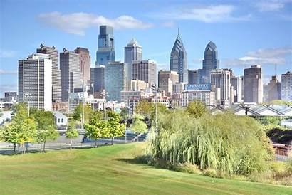 Philadelphia Skyline South Street Bridge Philly Museums