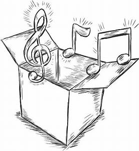 Best Music Box Illustrations  Royalty