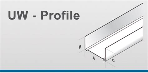 uw cw profil unterschied uw profile jaha profile hersteller profilen f 252 r den