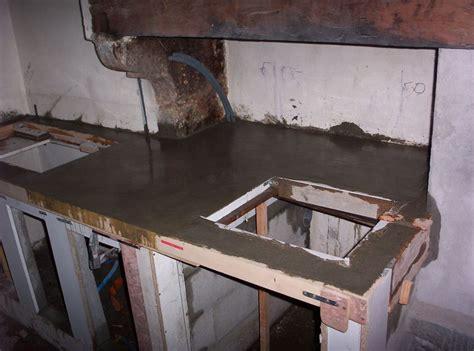 beton pour plan de travail cuisine revger com faire un plan de travail en béton idée