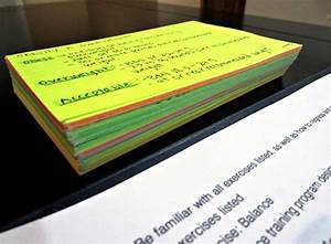 Study Notecards For Nasm Cpt