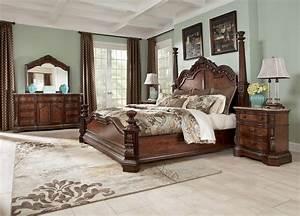 Ledelle poster bedroom set b705 51 71 98 millennium for Ashley furniture 5 pc bedroom sets
