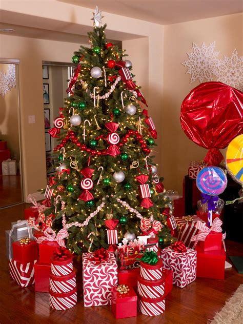 simple christmas tree decorating ideas  christmas tree