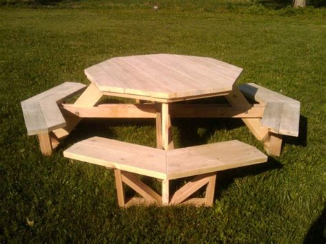 xs  xs picnic table  octagonny
