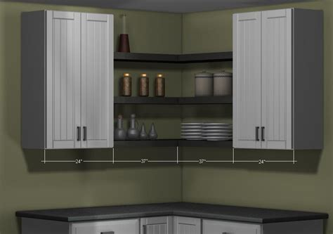 kitchen corner wall cabinet what s the right type of wall corner cabinet for my kitchen