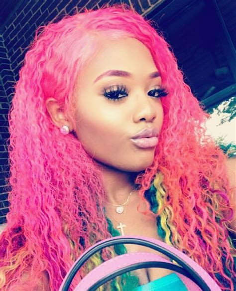 hair styles for with hair 2683 best pink hair images on weave hairstyles 2683