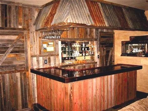 ... . This Home Bar Makes A Great Focal