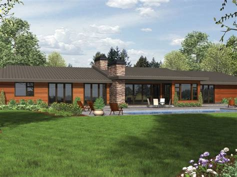 contemporary ranch home plans zion star