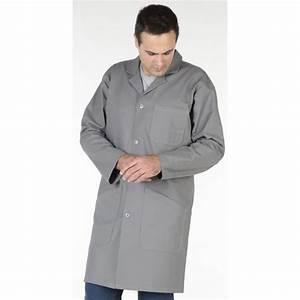 Blouse De Travail Homme : blouse travail pilote coton gris muzelle dulac hasson ~ Edinachiropracticcenter.com Idées de Décoration