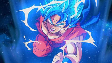 Anime Wallpaper Goku by Bc54 Goku Blue Illustration Anime Wallpaper