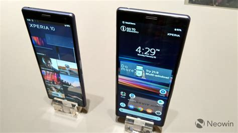 mwc 2019 look at sony s new xperia phones neowin