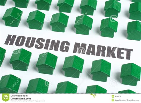 real estate housing market stock photo image  black
