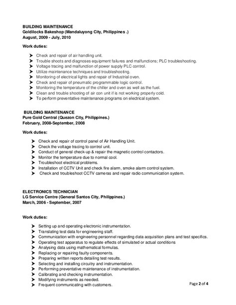 City Maintenance Worker Resume by Resume Of Garry