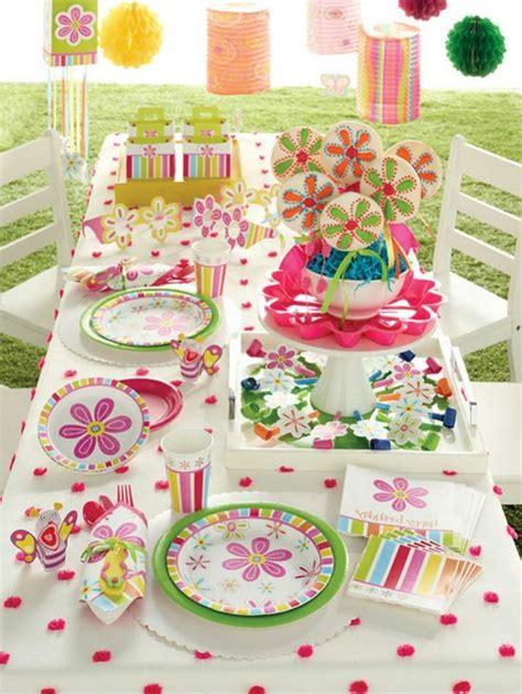 decoration table pour anniversaire bebe visuel