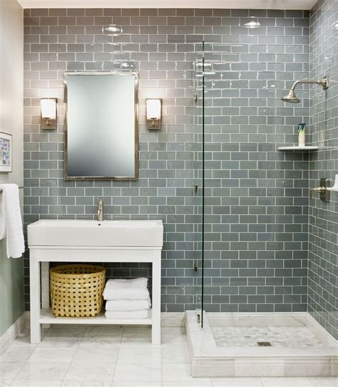 glass tile ideas for small bathrooms the 25 best glass tile bathroom ideas on subway