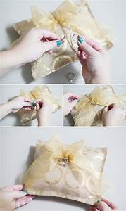 learn how to make a ring bearer pillow with hot glue only With how to make a wedding ring pillow