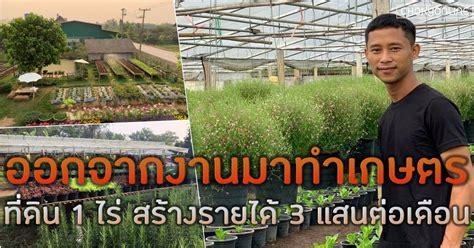 หนุ่มลาออกจากงาน เปลี่ยนที่ดิน 1 ไร่ ทำเกษตรผสมผสาน สร้างรายได้ 300,000 บาท
