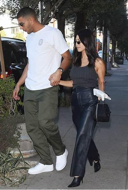 Kourtney Kardashian Leather Mules Bendjima Younes Pants